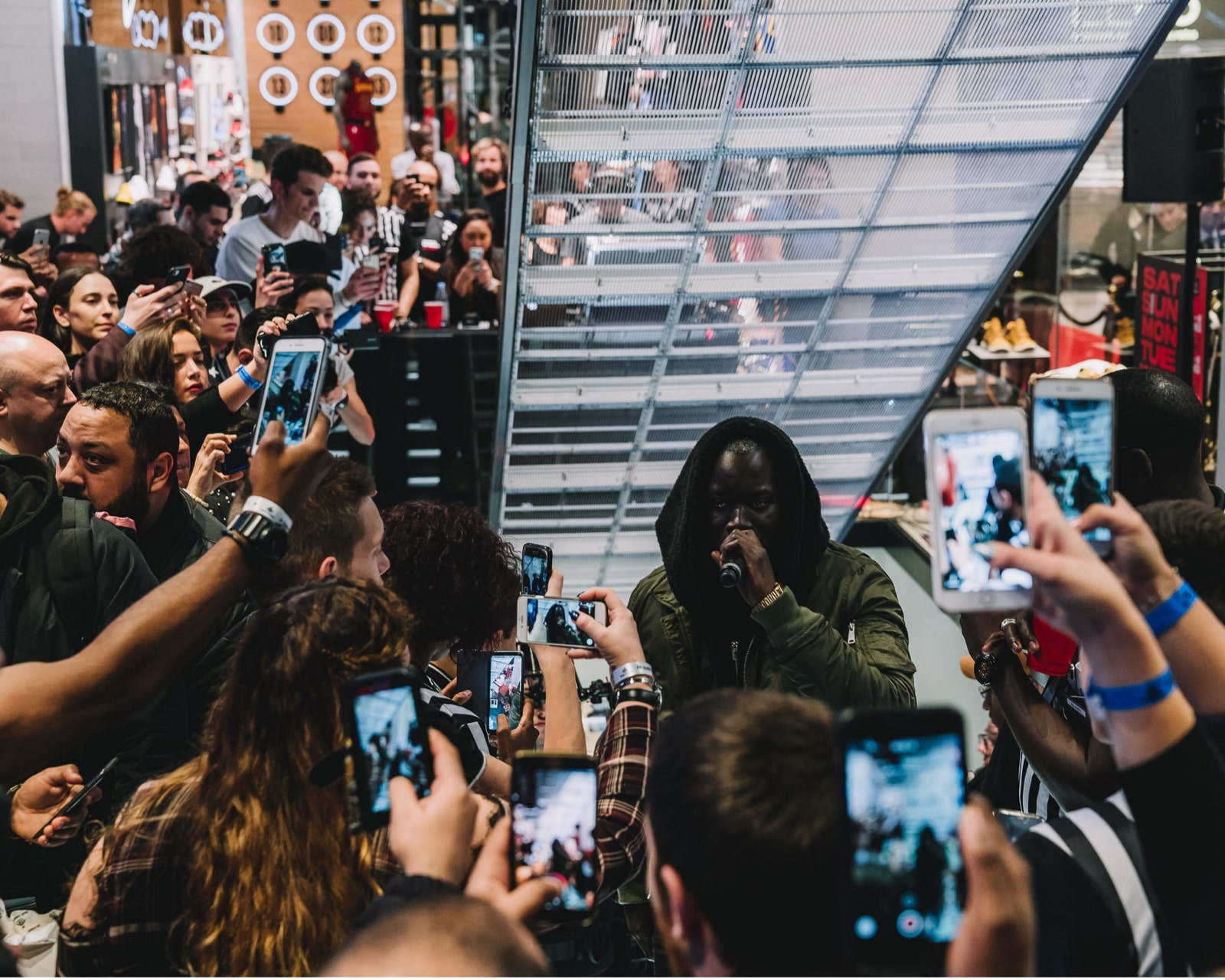 Foot Locker Opening Flagship Presse Relations By M&C Saatchi Little Stories