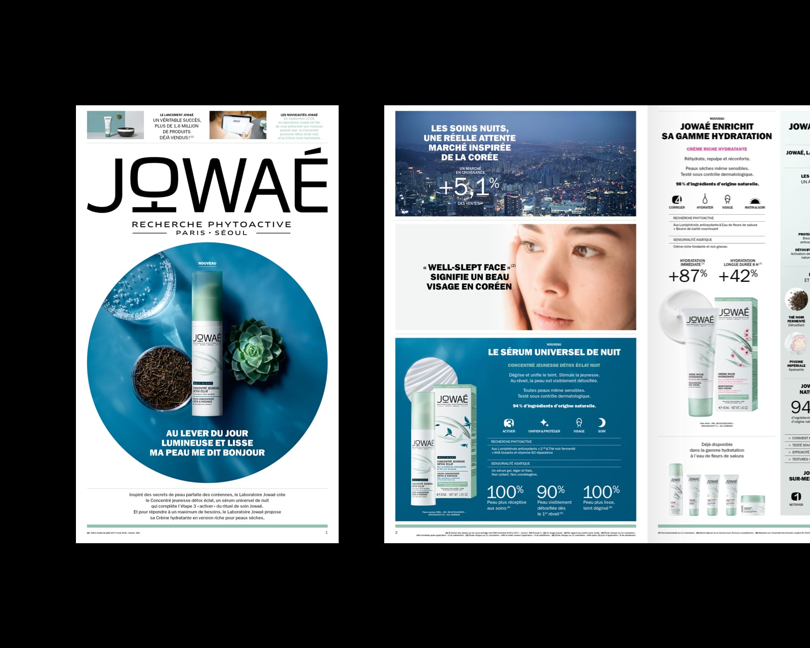 Brand identity & social média for Jowae by M&C Saatchi Little Stories